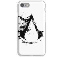 Splatter Paint Assassins Creed Logo iPhone Case/Skin
