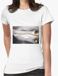 cold landscape Womens Fitted T-Shirt