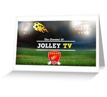 JolleyTV poster design Greeting Card