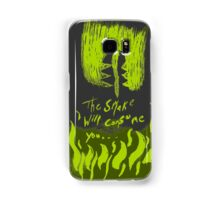 The Smake will consume you Samsung Galaxy Case/Skin