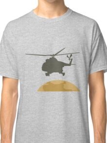 Helicopter flying design Classic T-Shirt