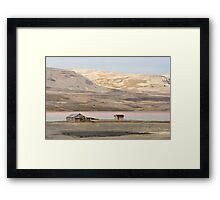 arctic tundra Framed Print