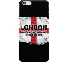 London - England vintage flag iPhone Case/Skin