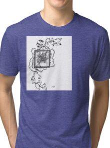Wild flora framed 2.0 Tri-blend T-Shirt