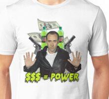 Nicolas Cage - Money Is Power Unisex T-Shirt