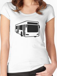 Public bus Women's Fitted Scoop T-Shirt