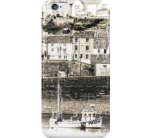Harbour Village Backdrop - Cornwall iPhone Case/Skin