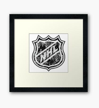 NHL Lagend Framed Print