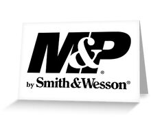 Smith & Wesson Firearms Greeting Card