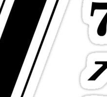 Seven in Multiples Sticker