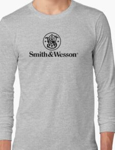 Smith & Wesson Firearms Long Sleeve T-Shirt