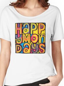 Happy Mondays Logo Women's Relaxed Fit T-Shirt