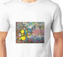 Graffiti birds Unisex T-Shirt