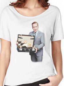 Saul Goodman's Cat Box Women's Relaxed Fit T-Shirt