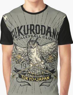 Haikyuu Team Types: Vintage Fukurodani Graphic T-Shirt
