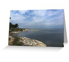 Ocean in Croatia Greeting Card