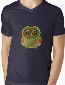 sill owl Mens V-Neck T-Shirt