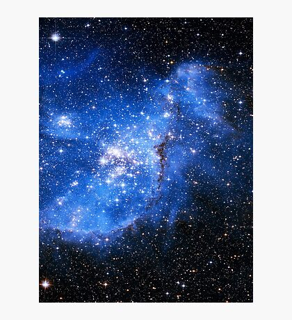 nebula in space Photographic Print