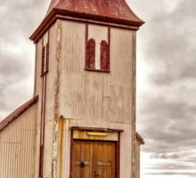 Church at Hellnar Sticker