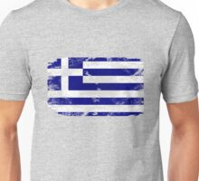 Greece vintage flag Unisex T-Shirt