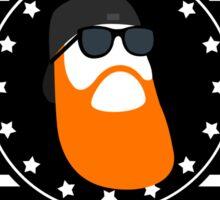 Beard Nation Sticker