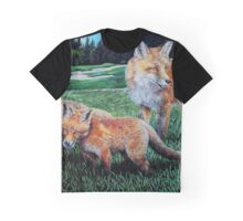 A Sly Foursome On The Fairway Graphic T-Shirt