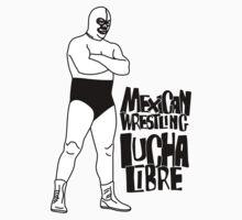 mexican wrestling lucha libre10 Baby Tee