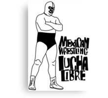 mexican wrestling lucha libre10 Canvas Print