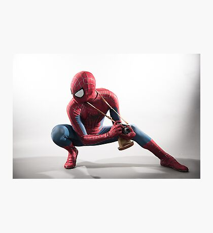 Spider Man Photography 2 Photographic Print