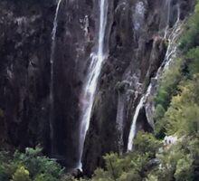 Waterfalls in Croatia Sticker