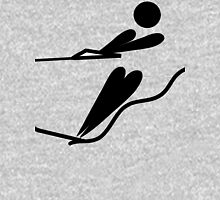 Olympic sports water skiing pictogram Unisex T-Shirt