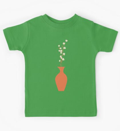 Spring flower pattern, tulips and lilies, 005 Kids Tee