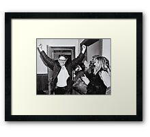 Bernie Sanders Protest 60's 1960's Framed Print