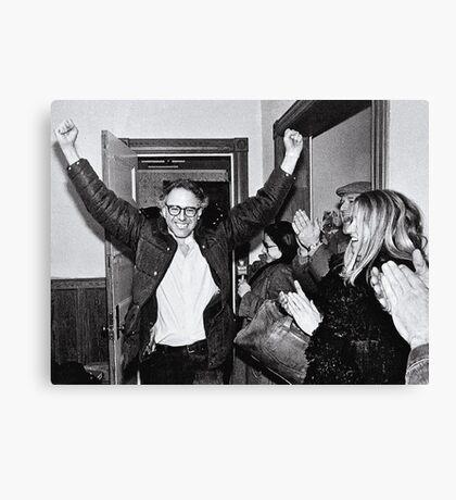 Bernie Sanders Protest 60's 1960's Canvas Print
