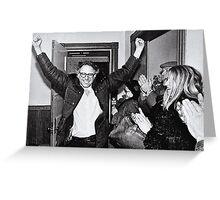 Bernie Sanders Protest 60's 1960's Greeting Card