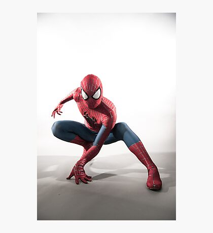 Spider Man Photography 3 Photographic Print