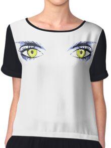 Eyes Chiffon Top