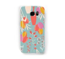 Spring flower pattern, tulips and lilies, 004 Samsung Galaxy Case/Skin