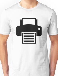Printer Unisex T-Shirt