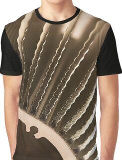 Metallic abstract Graphic T-Shirt