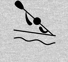 Olympic sports canoeing slalom pictogram Unisex T-Shirt