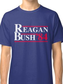 Reagan Bush '84 Retro Logo Classic T-Shirt
