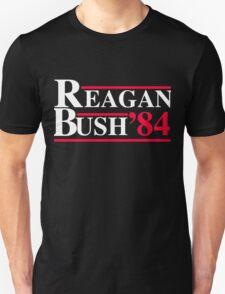 Reagan Bush '84 Retro Logo Unisex T-Shirt