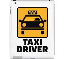 Taxi driver iPad Case/Skin