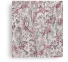 Pink Reptile Bows Canvas Print