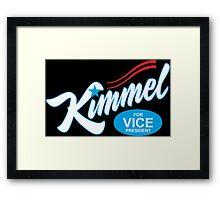 jimmy kimmel Framed Print