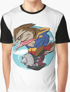 Sky Pirate Graphic T-Shirt