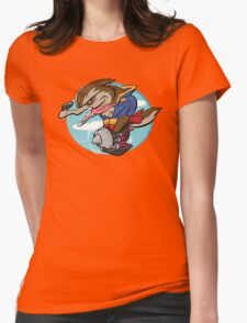 Sky Pirate Womens Fitted T-Shirt