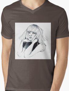 Sia - Chandelier Mens V-Neck T-Shirt