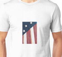 USA flag background Unisex T-Shirt